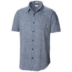 Columbia Under Exposure™ Yarn-Dye Short Sleeve Shirt - Men's